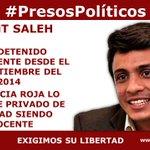 """""""@jsandoval0707: #PresosPolíticos @LORENT_SALEH La justicia roja lo mantiene privado de libertad siendo inocente http://t.co/y0OdrKFHl5""""DYPL"""