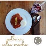 Pollo en salsa de plátano macho ???????????? #LaCapsantina #Veracruz #BocadelRio http://t.co/X51VQI8f8o