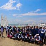 """Inauguramos hoy la X Gran Regata Anual """"José Mabarak Vela 2015"""" en #Veracruz con 120 veleristas de todo el país. http://t.co/9dPXAbx7WA"""