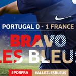 Oui ça fait du bien! Les Bleus renouent avec la victoire grâce à un but de Mathieu Valbuena! #PORFRA #AllezLesBleus http://t.co/lWq7FSTQxu