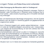 """""""Nur im Geiste der europäischen Solidarität"""" - das österreichische Innenministerium @migration_oe zum #marchofhope: http://t.co/VelyHpe66d"""