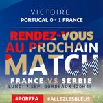 On se quitte sur cette victoire de bon augure pour lundi et le retour des Bleus à Bordeaux! ALLEZ LES BLEUS! http://t.co/JaWefSp3cv