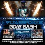 Partying w/ @FlyAssFonzie tonight @ #MansionElan ???????? http://t.co/RlEBc9SCSe