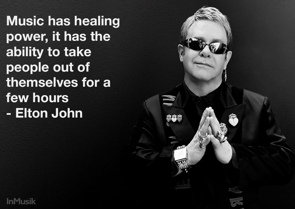 Music has healing power... Great quote by @eltonjohndotcom http://t.co/nI9gLYnqBV http://t.co/aGq8baQ7XQ