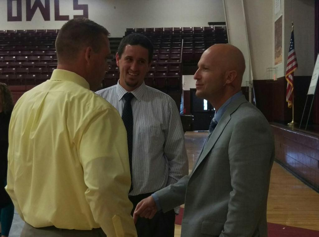 Today was awesome! Thanks @E_Sheninger for delivering just what we needed to hear! @jared_terry @morelockmike http://t.co/itYXzsDDHu