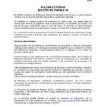 A continuación boletín de prensa 42 sobre actividad #VolcánCotopaxi y trabajo en territorio → http://t.co/SE9ZJUyh1v http://t.co/U8yYvBoCTn
