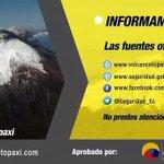 #ElCiudadanoRadio le recuerda los canales oficiales para mayor información sobre #VolcánCotopaxi http://t.co/TQ6os3NDNp