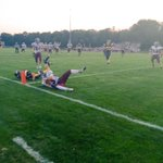 Football season is here! The first touchdown of the year by @BurntHills catch the final score at 10:30 on The Edge! http://t.co/1YKJlFAUwE