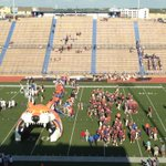 Roughly 35 minutes until kickoff between San Angelo Central and Byron Nelson here at San Angelo Stadium. #BlitzWTFB http://t.co/kPedh7AJ6w