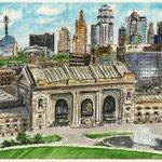 Welcome to Kansas City - #doodlewash #paintseptember #kansascity @ExploreKC http://t.co/nn6le69ot0 http://t.co/mE0vRqq18W