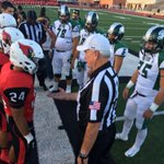Reagan @ Harlingen set to kickoff @ Boggus Stadium. Rattlers won toss, deferred. Cards receive to begin. #RGV #txhsfb http://t.co/le1inJzs4w