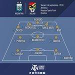 #VamosArgentina ¡Rueda la pelota! @Argentina y #Bolivia ya juegan en Houston http://t.co/Ln3cZFkapH http://t.co/asGBqiBPcm