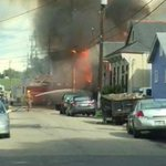 Fire fighter injured battling Bywater blaze http://t.co/cNgDzF88am http://t.co/I5bgNQaVOF