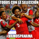 Todos con la selección. Dale RT si crees que Panamá le va a ganar a Uruguay #VamosPanama @rpctvpanama @rpc_radio http://t.co/UADk8Finoe
