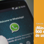 . @WhatsApp supera la barrera de los 900 millones de usuarios. http://t.co/9mNj43m8b8 http://t.co/euIbFcykoU