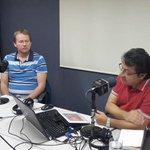 "Leonardo Wild autor de""Cotopaxi,alerta roja""ya esta en LA NOCHE BOCA ARRIBA acompañanos en Pichincha Univeral 95.3FM http://t.co/E4mZlaLOET"
