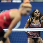 Serena is still alive! Williams crushes third set, defeating Bethanie Mattek-Sands, 3-6, 7-5, 6-0. http://t.co/thrCJuDR5s