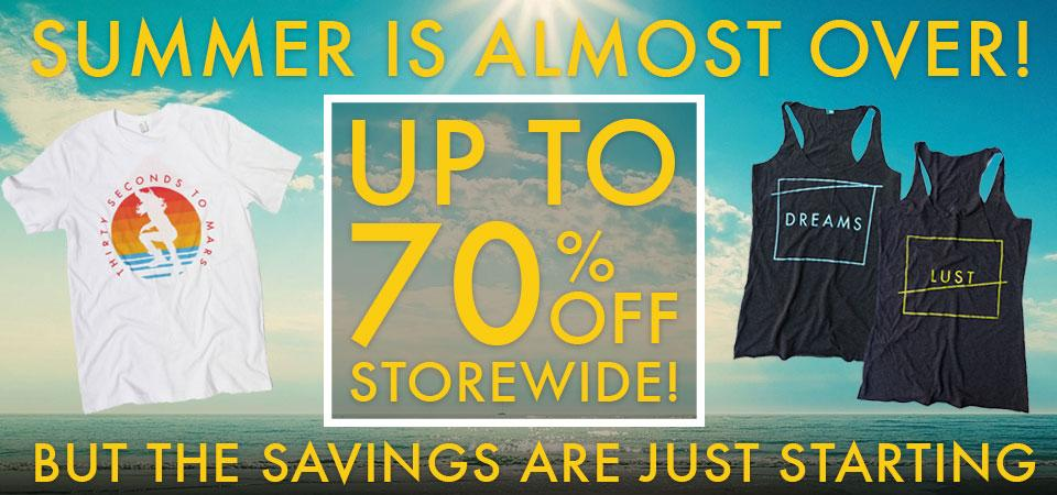 RT @30SECONDSTOMARS: Summer's at its end, but you can still go #BackToSchool in style with up to 70% OFF! → http://t.co/Q2KnivuS28 http://t…