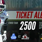 TICKET ALERT: Fewer than 2500 tickets remain for the @NMStateFootball Home Opener vs Georgia State! #StuffTheStadium http://t.co/QOt7Y09qFV