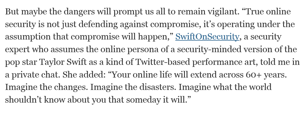 Oh, @SwiftOnSecurity made it into the NYTimes. http://t.co/UcrboTKb4W http://t.co/QyBoJG3nuP