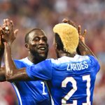Jozy Altidore scores both goals in the USMNTs come-from-behind 2-1 victory over Peru. http://t.co/Cwy43Vqtdk