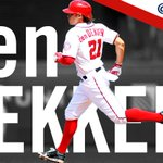 TIE. BALLGAME!! @UpperDekker with a base hit to center and @treavturner comes on home! 2-2!! http://t.co/YHcMA91flb