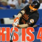 THIS IS 40: @CrushD19 becomes the first player to reach 40 homers this season as the @Orioles win 10-2! #BirdFight http://t.co/YTTSgkqsMc