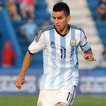 ¡GOL DE CORREA! En su debut en la Selección mayor de Argentina marca su primer gol con la albiceleste. ¡CRACK! http://t.co/l9mGxsGRpI