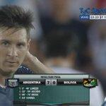 ¡Final del partido! Argentina le ganó 7-0 a Bolivia y lo viste por http://t.co/9hQFpiqou2 http://t.co/y3yU33oz1m