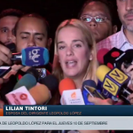 EN VIVO por @vivoplaynet declara @liliantintori tras haber sido diferida la audiencia de @leopoldolopez http://t.co/479LzsrhtV