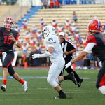 CHSs Bennen Wooten (@BWQB12) looks to throw the ball in Fridays game against Byron Nelson #BlitzWTFB http://t.co/39AXL4vqEF