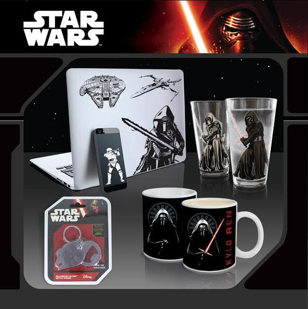 #ForceFriday #competition! Follow and RT to win @paladone SW decals/keychain/mugs/glasses! Closes noon Monday 7th! http://t.co/5aBQn7P0Ia