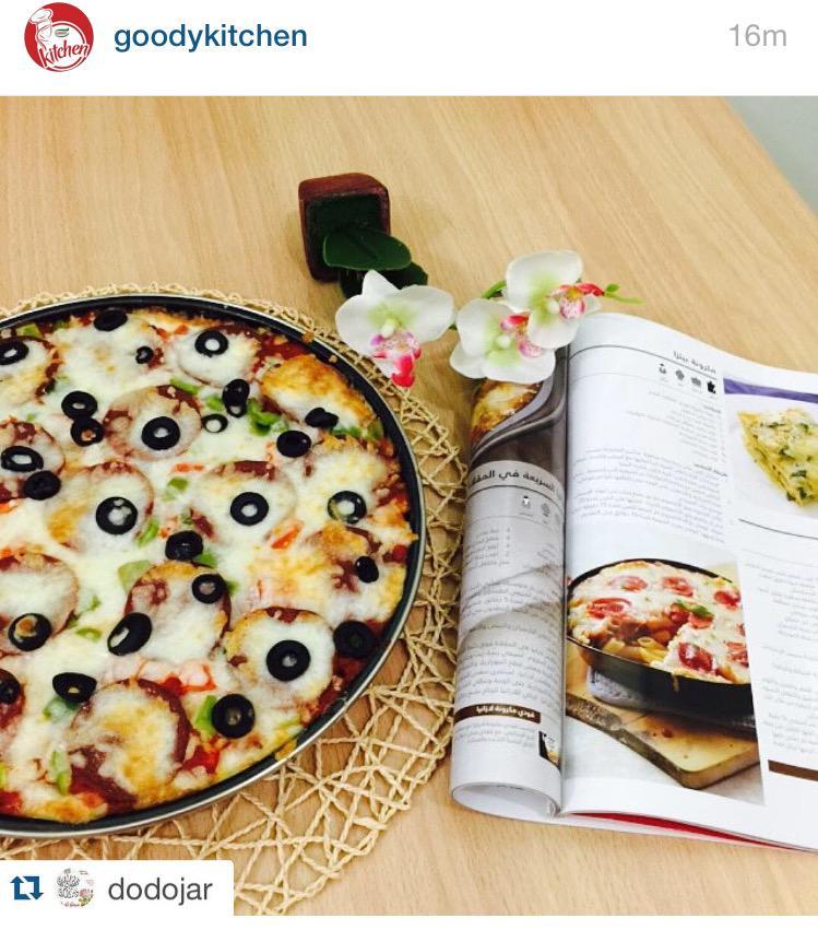 تطبيق وصفة مكرونة البيتزا من صديقتنا @dodojar #مطبخ_قودي #قودي #وصفات http://t.co/dy2yrWznoS