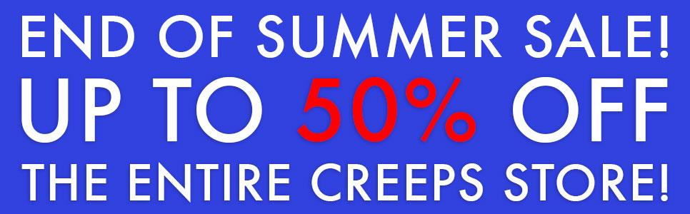 RT @CREEPS: CALLING ALL #CREEPS! Join in the last days of summer fun + SAVE 50% NOW through Sept 11: http://t.co/yxP04kJV9P http://t.co/CDW…