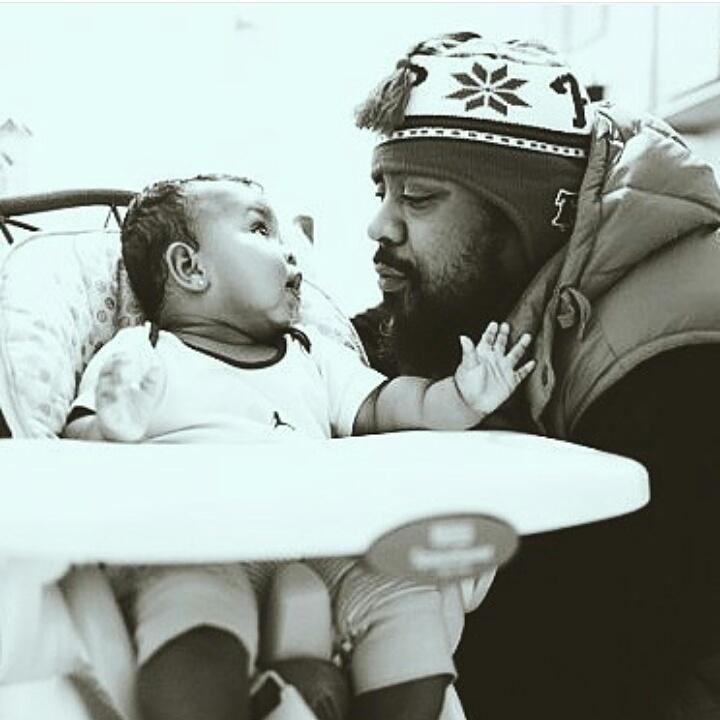 """""""I'm a rapper to everybody else, but here I'm just Dad."""" @SeanPrice & Shaun Price http://t.co/v9Wx8SdKLd"""