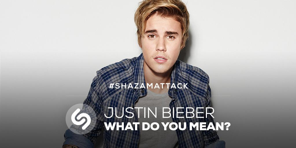 #Beliebers, time for a #ShazamAttack
