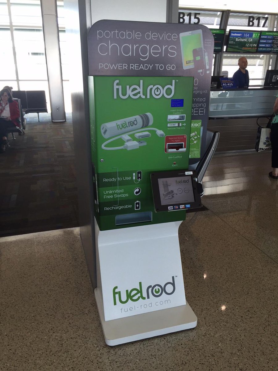 Fuel Rod portable device charging systems now available in both SMF terminals.