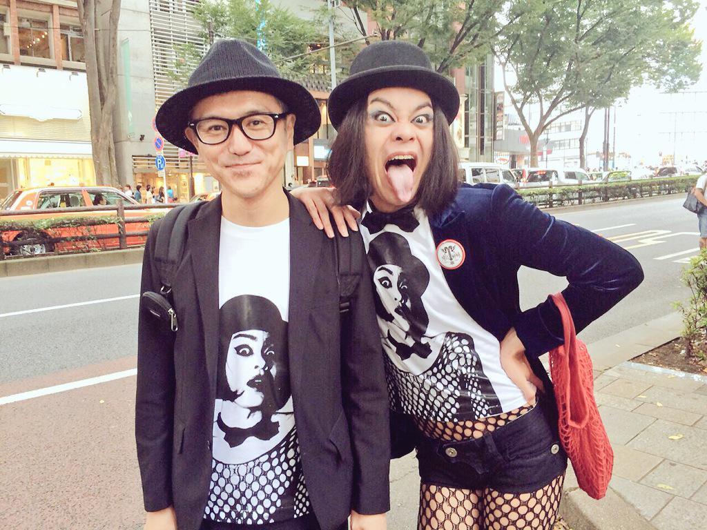 さてさてさて、皆様!先程原宿にてファッション雑誌KERAのストリートスナップに参加して参りましたよ!!あみ太くん&アミタッティーが10月発売のKERAに載る!?お写真はアミタッティーがお揃いなKERA編集長の松村さんと記念パチリング★ http://t.co/uruCTX7Hkp