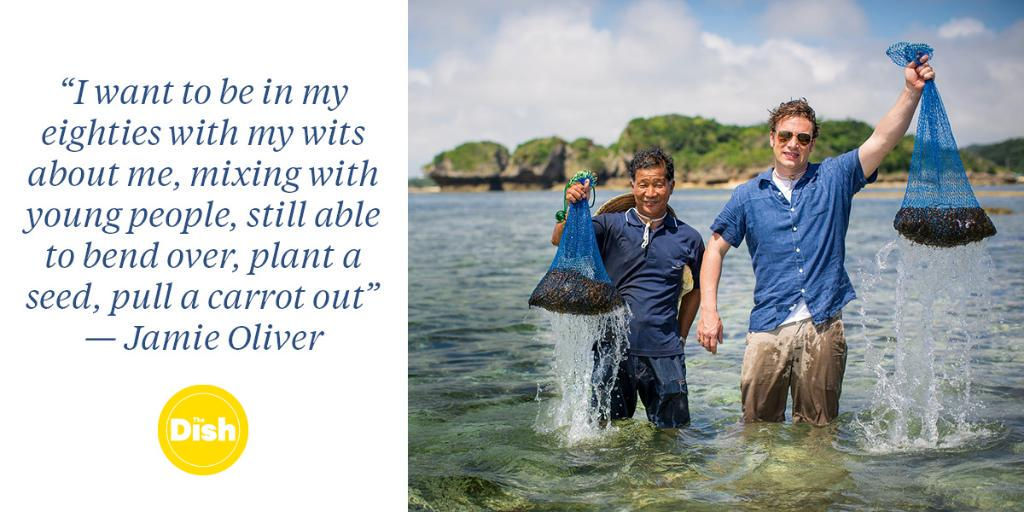 RT @SundayTimesFood: .@JamieOliver's secret to a long and happy life http://t.co/09QoWXmtwW http://t.co/lm3qqg8KLI