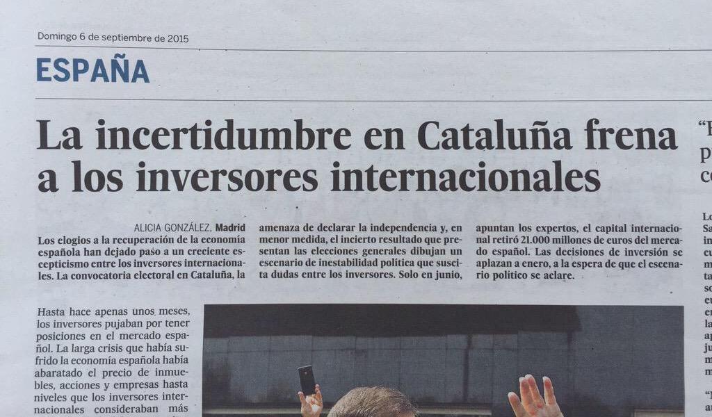 Aquest titular cal retenir-lo fins dimarts. Una gran empresa anunciarà coses importants a Cat (via @CarlesRutia) http://t.co/des1ZiI1Dd