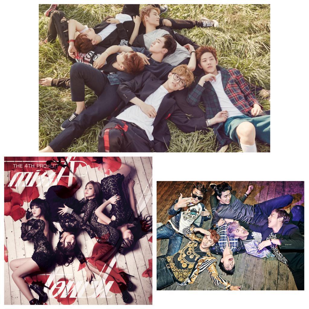 JYP nation 누워서 사진찍는거 좋아하네!ㅋㅋ Day6 나왔어요! 홍보하로 왔엉~ 많이 응원 부탁드려요! http://t.co/MP6JE7Rbfo