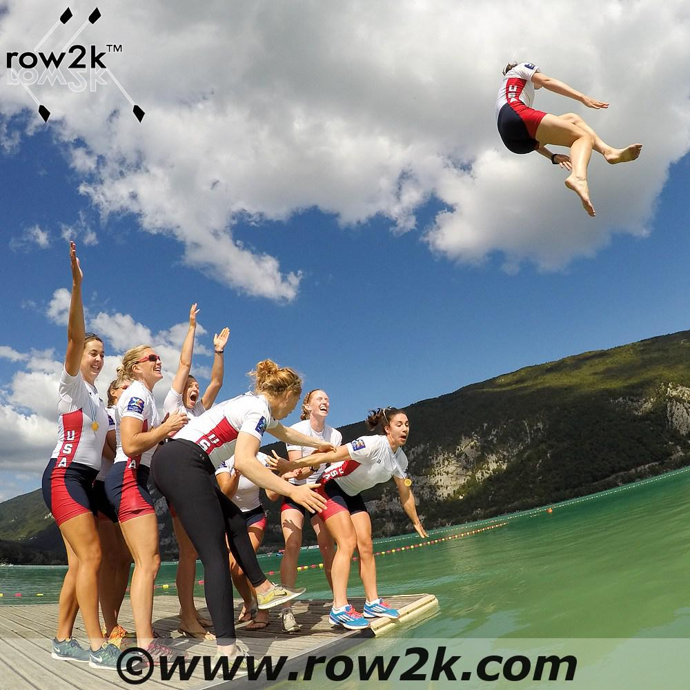 The USA W8+ won their 10th straight world/olympic title today at the world championships! #rowtorio #WRChamps http://t.co/TONBcBMkWX