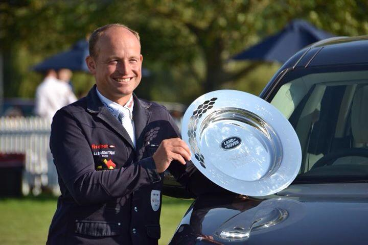 Congratulations to Michael Jung, winner of the Land Rover Burghley Horse Trials 2015! #LRBHT http://t.co/hb2pD6ct8b