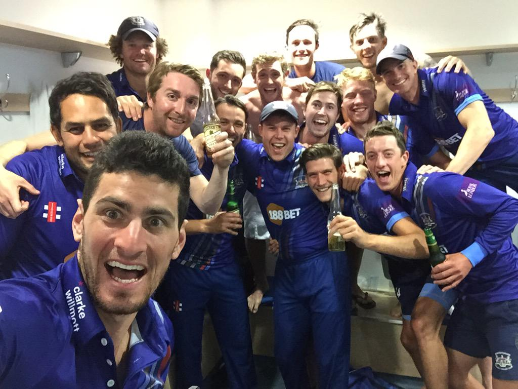 What a bunch @Gloscricket http://t.co/YIR79C0imH