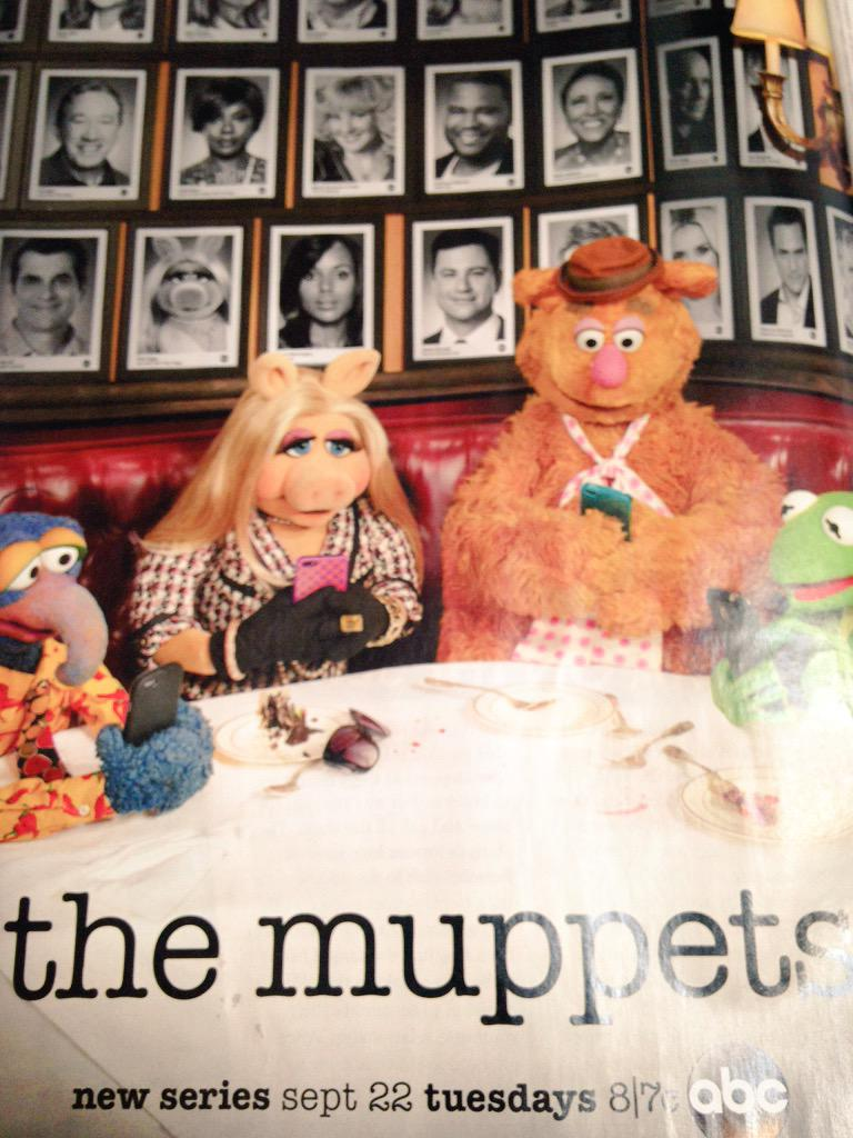 This ad has got me so excited for #TheMuppets show! #throwback http://t.co/Js9XrVooZD
