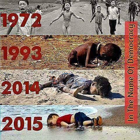 「民主主義」という名の下に人を殺しに行く戦争でなく、天変地異・飢餓に直面する場所へ真っ先に助けに駆け付ける国際レスキュー隊の創設こそ「敗戦70年」日本に相応しき真の「積極的平和主義」❤ https://t.co/uLWyb7gkU5 http://t.co/udrVLacaDW