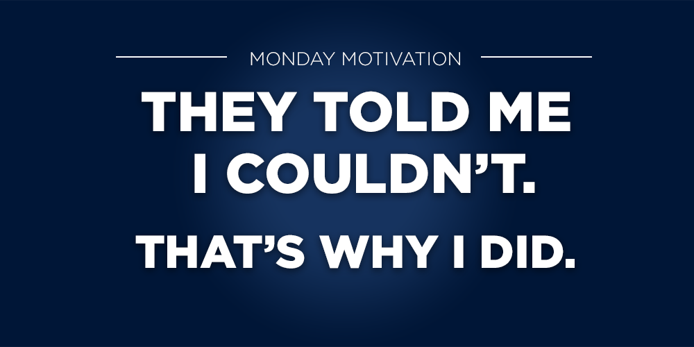 Always follow your dreams. #MondayMotivation http://t.co/ZjiNmtmRst