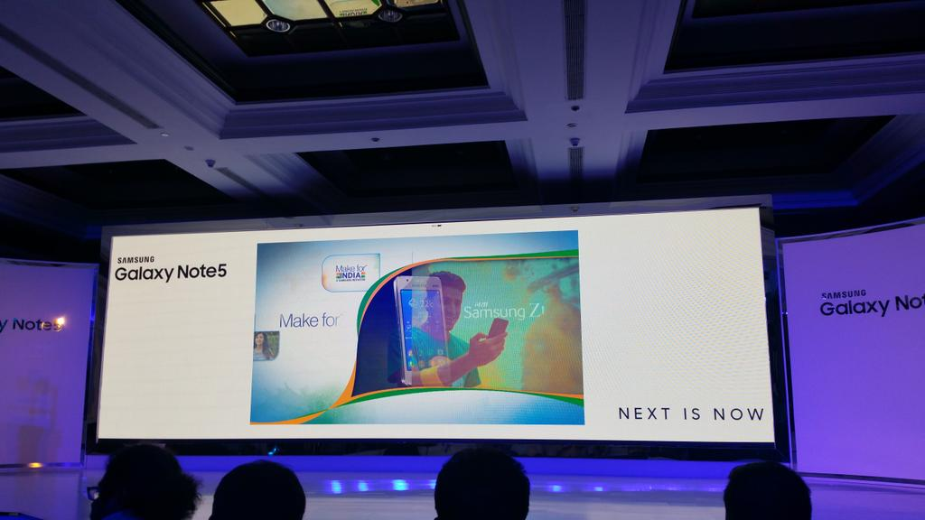 #GalaxyNote5 Press Conference is about to begin http://t.co/UqRVJxjXk4