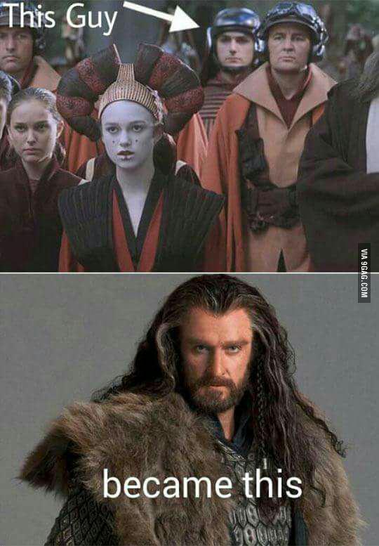 Quando si dice crescere bene: Richard Armitage da Star Wars Episodio 1 alla trilogia de Lo Hobbit http://t.co/E5FlkNB4Ru
