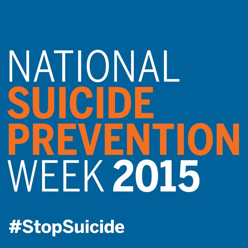 It's National #SuicidePrevention Week! Find out how you can get involved! http://t.co/ANxaYR9dIw #NSPW15 #StopSuicide http://t.co/AWqZOHVFWq